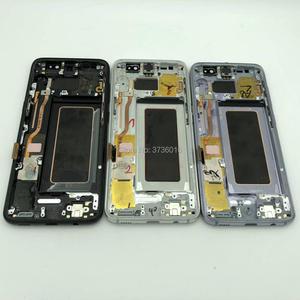 Image 2 - Schermo LCD rotto Per Samsung S7edge S8 S8plus S9 S9plus Nota 8 9 Lcd La Pratica di Riparazione Display Dispone di Nero di Tocco lavorare Bene