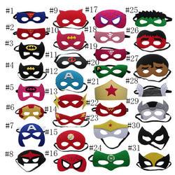 Супергерой маска Косплей Супермен Бэтмен человек паук Халк Тор IronMan принцесса Хэллоуин Рождество для вечерние детей и взрослых Костюмы