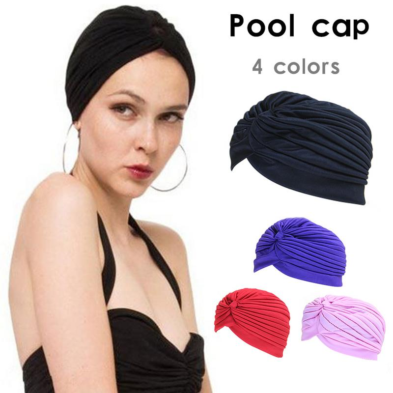 artisanat exquis nouvelles variétés double coupon US $1.88 31% OFF|2019 Waterproof Swimming Caps Protect Ears Long Hair  Sports Swim Pool Hat Adults Indian Headscarf Bonnet Caps For Yoga Kits-in  ...