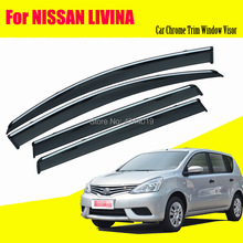 Car Sun Visor Window Rain Shade for Plastic Accessories For Nissan Livina