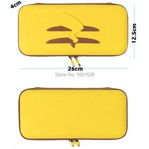 Image 4 - Nintend สวิทช์อุปกรณ์เสริมใหม่กระเป๋าถือ + ฟิล์มกระจกนิรภัย + PC Shell สำหรับคอนโซลเกม Nintendo Switch