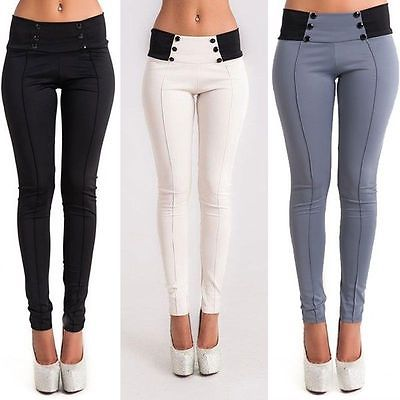 Women Denim Skinny   Pant   High Waist Stretch Slim Pencil Trouser Summer   Pants   Ladies Womens Daily Casual   Pant     Capris