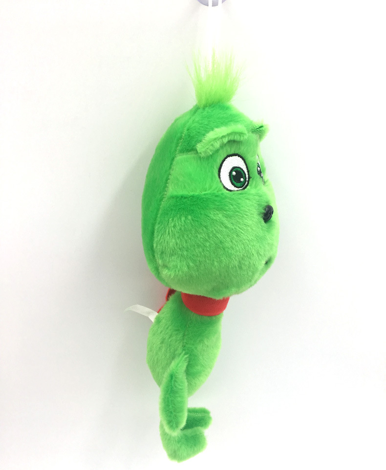 28CM Movie Grinch Plush Toy Young Grinch Soft Stuffed Doll for Kids Gift