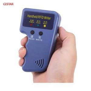 Image 3 - Lector de tarjetas de identificación RFID de 125Khz copia de etiquetas de proximidad Sensor lector de tarjetas inteligentes EM4100 sin controlador EM ID USB para control de acceso de puerta