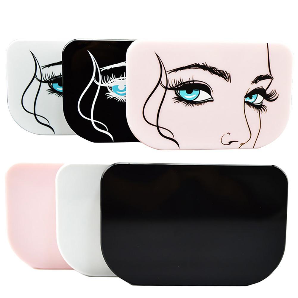 New 3 Pairs Of False Eyelashes Storage Boxes Plastic Storage Cases False Eyelash Container For Cosmetics High Quality Portable