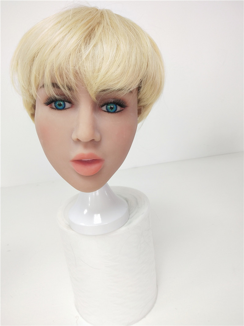 TPE Customize Beauty Head Doll for 140cm to 176cm Life Size Sex Dolls with Oral Sex Hole Men MasturbationTPE Customize Beauty Head Doll for 140cm to 176cm Life Size Sex Dolls with Oral Sex Hole Men Masturbation