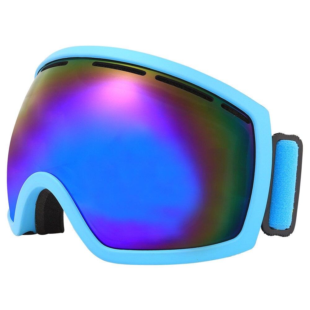 Cyclisme Motocross Ski lunettes sphériques Double couche Anti-buée escalade extérieure neige lunettes Coma myopie cadre
