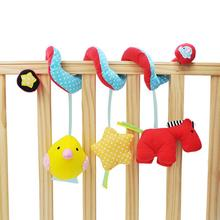 Baby Bed Small Horse Hanging Pendant Infant Activity Spiral Baby Cartoon Rattle Rattle Newborn Room Decorations Photography Tool