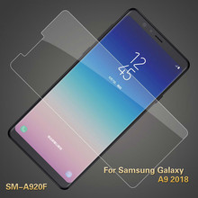 2.5D Tempered Glass For Samsung Galaxy A9 2018 Glass Screen Protector For Samsung SM-A920F Glass Safety Protection Film 6.3 inch