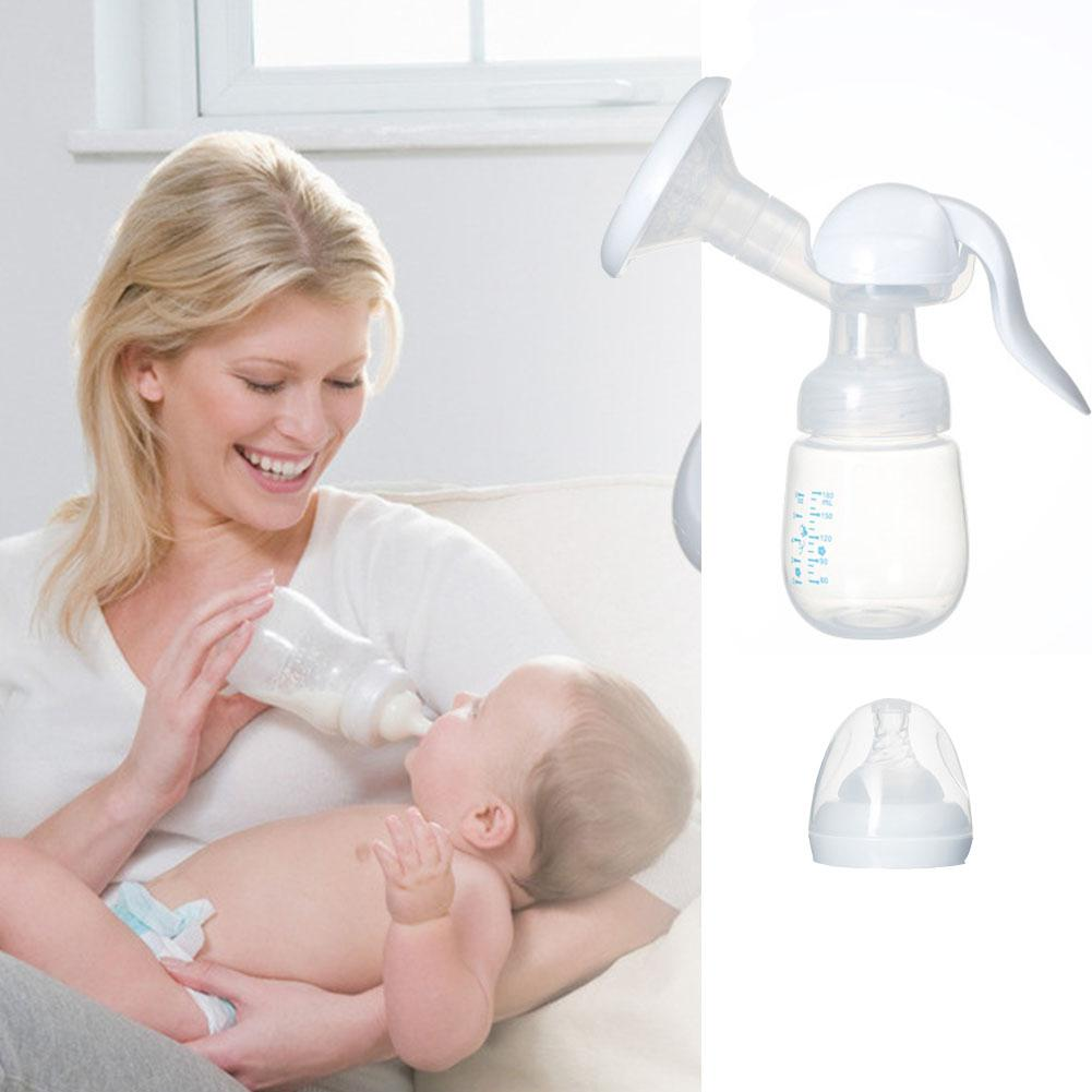 Kidlove Manual Press Style Breast Pump With Milk Bottle Nipple Function