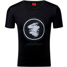 Fashion Summer Short Sleeve T-shirt Milk Silk Round Collar Pure Cotton Large Size for Men цена