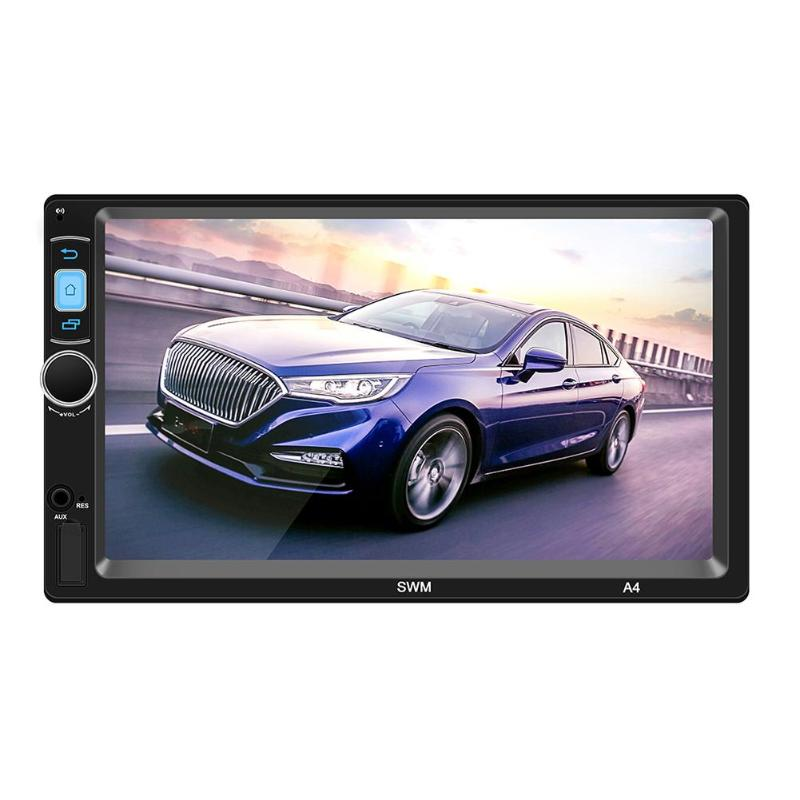 A4 7in Android 8.1 Car Stereo MP5 Player GPS Navi FM Radio WiFi BT 1GB+16GB Dual System Mirrorlink Auto Radio Audio Music Player