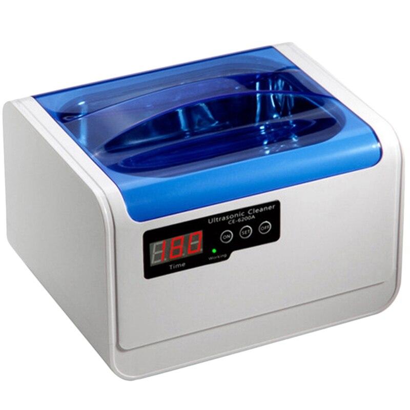 Portable nettoyeur à ultrasons 1.4L bain bébé bouteille légumes anneau pièces de monnaie lunettes rasoir montre pièces électroniques Vibration rondelle-