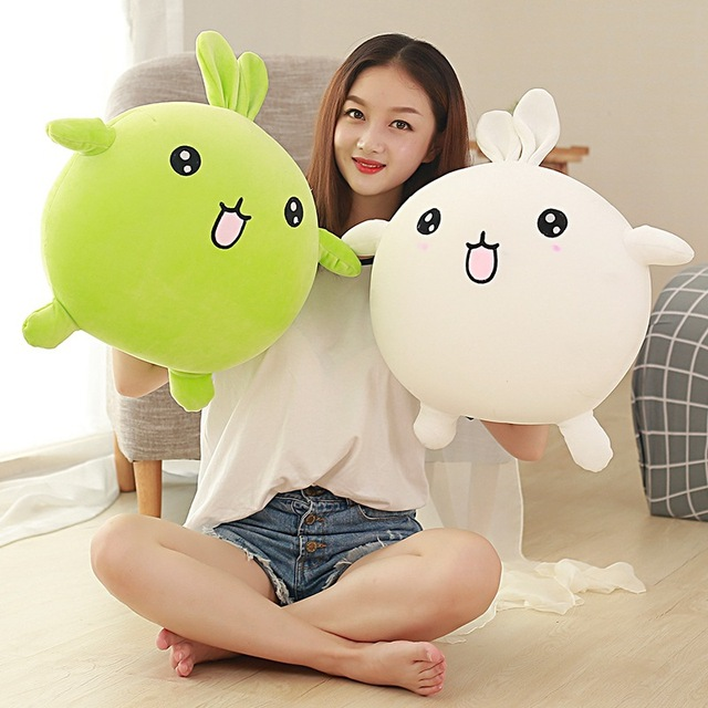 50cm Soft Toy Cute Rabbit Pillow Plush Toy Foam Particle Filling Office Sofa Pillows Girls Present Children Kids Gift  Dolls