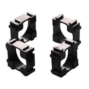 Image 2 - 100pcs/lot Plastic 18650 Battery Holder Bracket Cylindrical 18650 Case Cell Holder Safety Anti Vibration Li ion Battery Holder