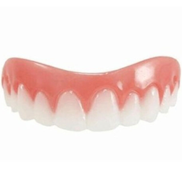 Teeth Whitening Perfect Smile Comfort Fit Flex Teeth Top Tooth Cosmetic Veneer One Size Fits All