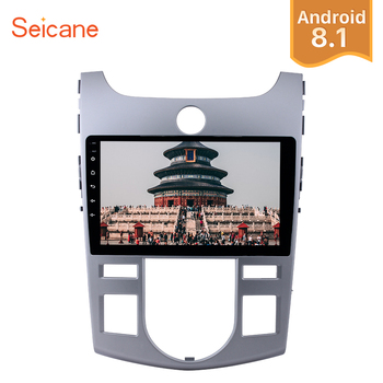 """Seicane 9"""" Android 8.1 2Din Car GPS Stereo Radio Quad-core Wifi Multimedia Player For KIA Forte(AT) 2008 2009 2010 2011 2012"""