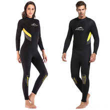 Sbart One-Piece Neoprene 3MM Wetsuit Long Sleeve Men Women Diving Suit Prevent Jellyfish Snorkeling Suit snorkel surf dive new scr neoprene 3mm camouflage one piece diving suit surf suit warm waterproof wetsuit for male size s xxl
