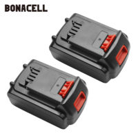 Bonacell 18V/20V 4500mAh Li ion Rechargeable Battery Power Tool Replacement Battery for BLACK & DECKER LB20 LBX20 LBXR20 L10