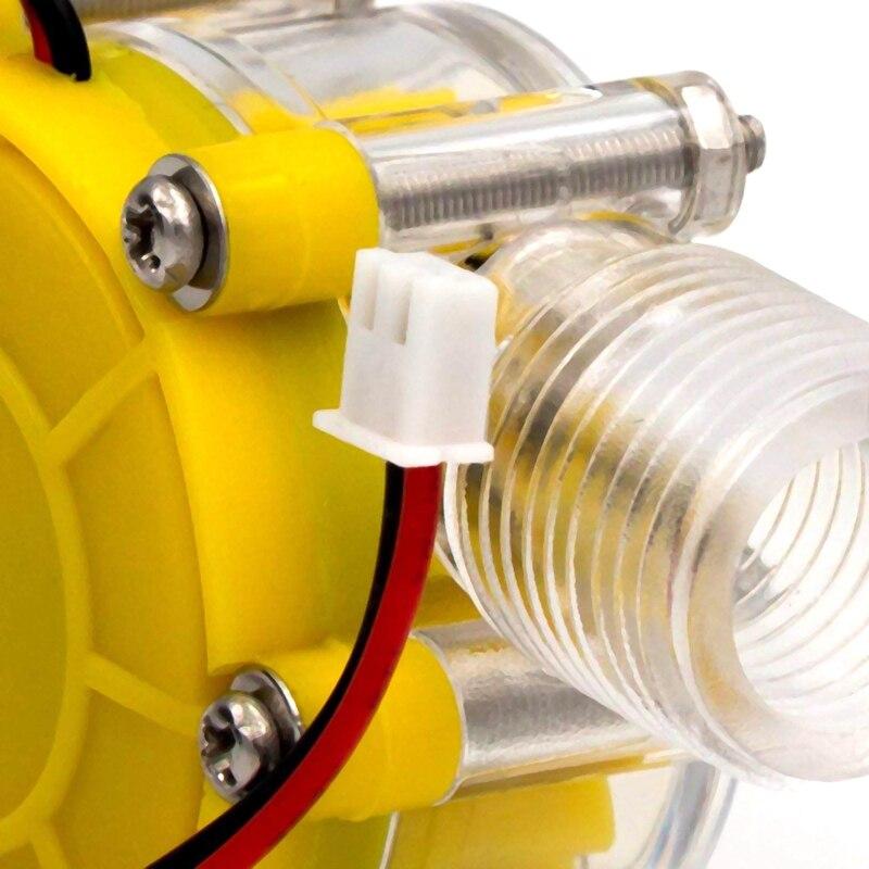 hidro gerador de turbina fluxo hidraulico conversao 04