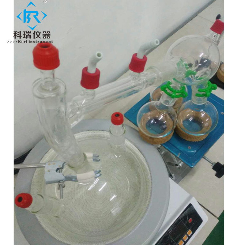 5L Factory Price Chemical Lab Short Path Distillation5L Factory Price Chemical Lab Short Path Distillation