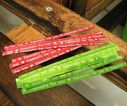 Красочная милая металлическая проволока для DIY печенья ручной работы/конфеты/торт подарок хлебобулочная упаковка украшения сумки герметизация