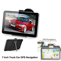 7 Inch Touch Screen Truck Car GPS Navigation TFT LCD display Navigator Win CE 6.0 8GB+ 256M FM With Free Europe America Maps