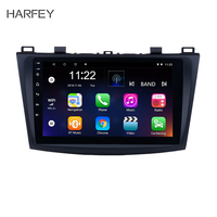 Harfey Android 6.0/7.1 9 Car Radio For 2009 2010 2011 2012 MAZDA 3 GPS Navi Wifi 3G Multimedia Player Head Unit Auto Stereo