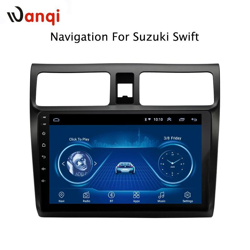 10,1 Zoll Android 8.1 Volle Touchscreen Auto Multimedia-system Für Suzuki Swift 2004-2010 Auto Gps Radio Navigation