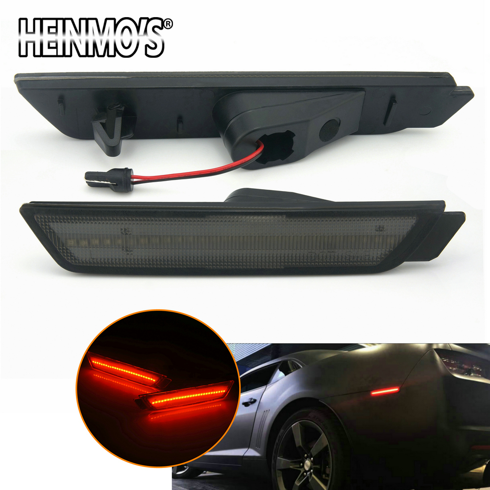 Accessories For Chevrolet Camaro 2010 2011 2012 2013-2015 For Chevy Camaro Turn Signal light LED For Chevy Chevrolet Marker Lamp