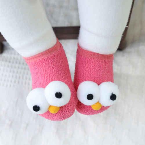Hot ทารกน่ารักทารกแรกเกิดเด็กทารกเด็กหญิงเด็กชาย Anti - Slip Warm ถุงเท้าการ์ตูนรองเท้าแตะรองเท้ารองเท้า