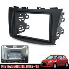 Auto Radio Stereo Fascia del Pannello di Copertura Trim Lunetta Plate Frame Per Suzuki Swift 2011 2012 2013 2014 2015 2016