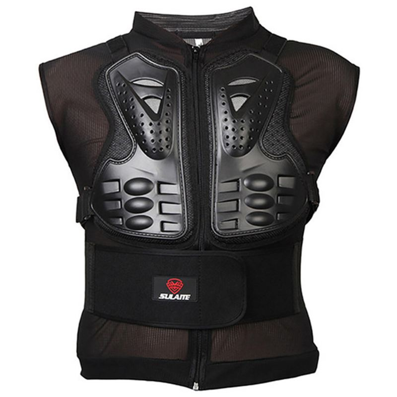 SULAITE Professional Body Protection Outdoor Racing Motorcycle Jacket Chest Back Protector Winter Skiing Body Armor ProtectiveSULAITE Professional Body Protection Outdoor Racing Motorcycle Jacket Chest Back Protector Winter Skiing Body Armor Protective