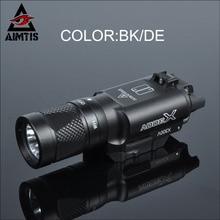 AIMTIS X300 Series X300V IR Flashlight Tactical LED Night Vision Weapon Light Glock 17 18 18C Pistol Armas Fit 20mm Rail