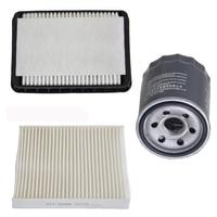 Car Air Filter Cabin Filter Oil Filter for Peugeot 4008 Mitsubishi ASX LANCER EVO Fortis Citroen 1500A023 7803A004 MD135737