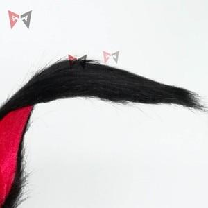 Image 5 - 新しいウサギ王国コスプレカーニバルゴシックロリータや入浴の供給キツネ耳の毛のフープ帽子ガール女性子供手作業