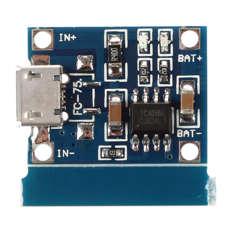 Micro-USB 1A литий-ионная 18650 литиевая батарея зарядное устройство для зарядки TP4056 Модуль платы