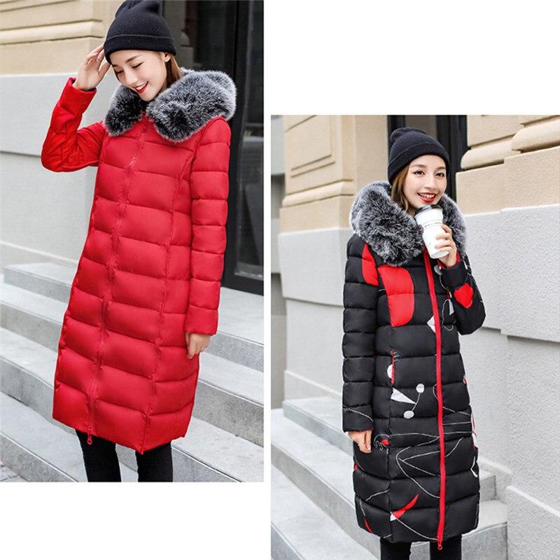 Parka cadetblue Può Inverno Lati Pelliccia Di 2018 Femminile Outwear Delle  Del Red Faux Modo Usura Con I Cotone Caldo Imbottito Giacca ... 706941def7f