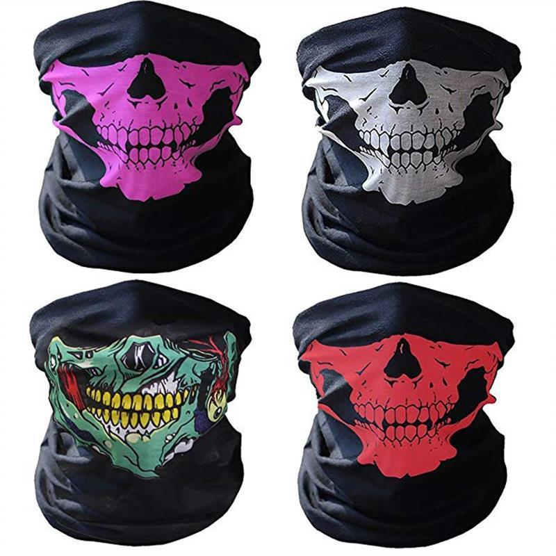Outdoor Sports Cycling Motorcycle Masks Flame Skull Ski Hood Hat Uv 3d Animal Protector Masks Active Dsrn Complete Range Of Articles Sports Face Masks Sports Accessories