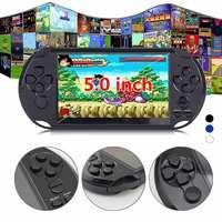 32/64 бит X9 перезаряжаемый 5,0 дюймов 8 г ручной Ретро игровой консоли видео MP3 плеер камера DV съемка мульти-языки сеть