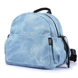 Mode Grote Capaciteit Kindje Luiertas Stijlvolle Kinderwagen Rugzak voor Nappy Changing Blauw Moederschap Baby Travel Bag voor Moeder