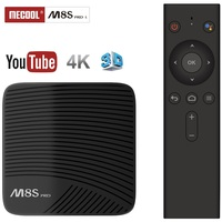 Mecool M8S PRO L 4K TV Box Amlogic S912 Bluetooth Android 7.1 3G RAM Smart Set Top Box Voice Remote Control Media Player
