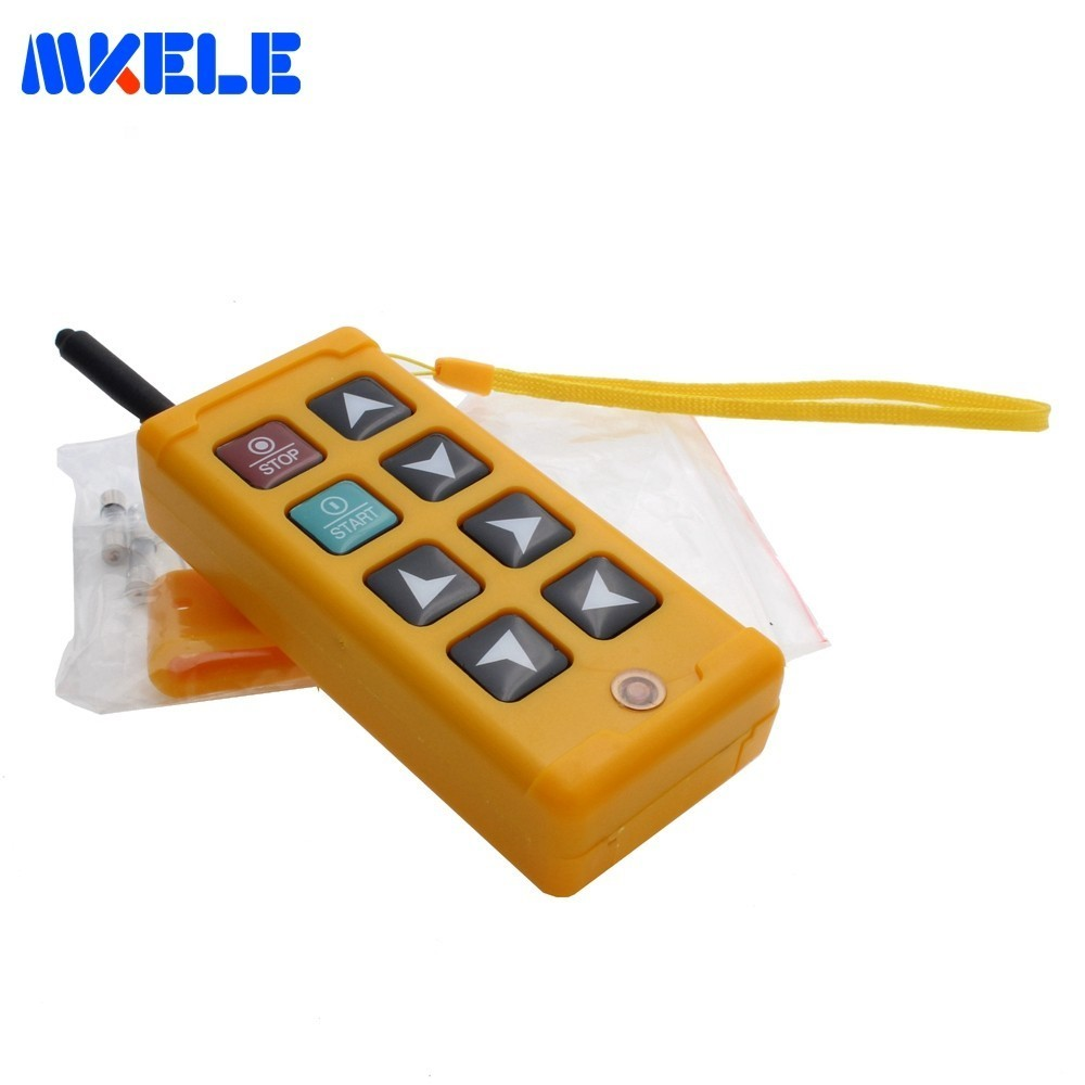 New Industrial Remote Control Crane Wireless Redio Control1 Transmitter 1Receiver 310-331mhz,425-446mhz For Truck Hoist CraneNew Industrial Remote Control Crane Wireless Redio Control1 Transmitter 1Receiver 310-331mhz,425-446mhz For Truck Hoist Crane