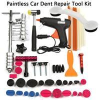 New PDRs Tools Car Repair Tool Set Dent Removal Slide Hammer Puller Lifter Kit Paintless Dent Repair Tabs with Glue Gun