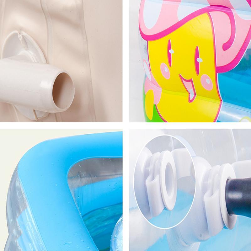 Meilleur Intérieur Extérieur Eau Jouer piscine gonflable piscine pour bébé Portable Enfants Bassin Baignoire ballon pour enfants Piscine Bébé De Natation - 5