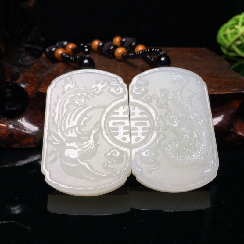 2019 Lovers New Reiki Natural Pendant Buda Popsocket Authentic Hetian Mutual Affinity Longfeng Matching Double Happiness Brand 2019 Lovers New Reiki Natural Pendant Buda Popsocket Authentic Hetian Mutual Affinity Longfeng Matching Double Happiness Brand