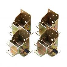 4PCS Foldable Extended Table And Chair Leg Support Furniture Hardware Accessories