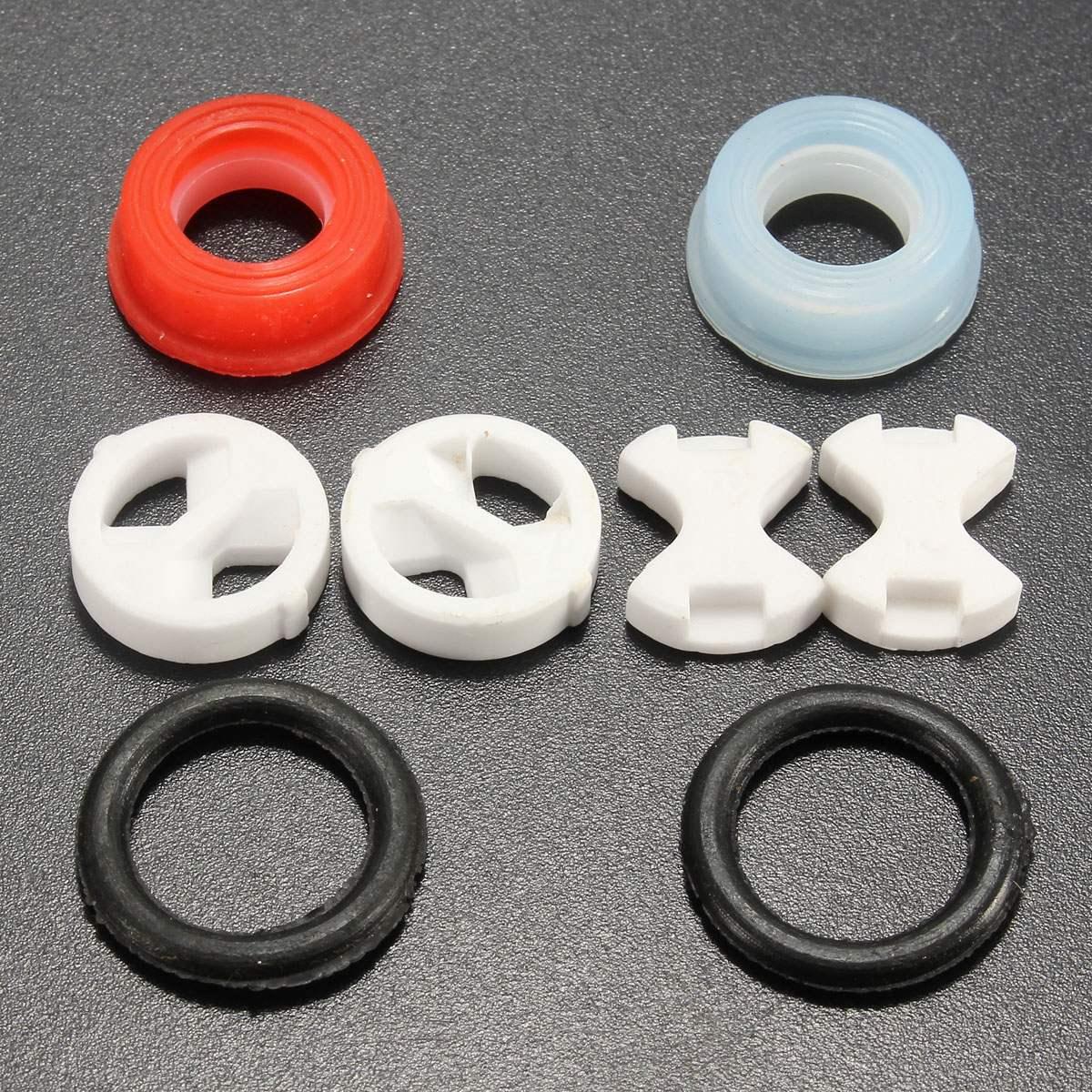 US $0.83 40% СКИДКА|8 шт. керамический диск силиконовая шайба Замена поворота 1/2