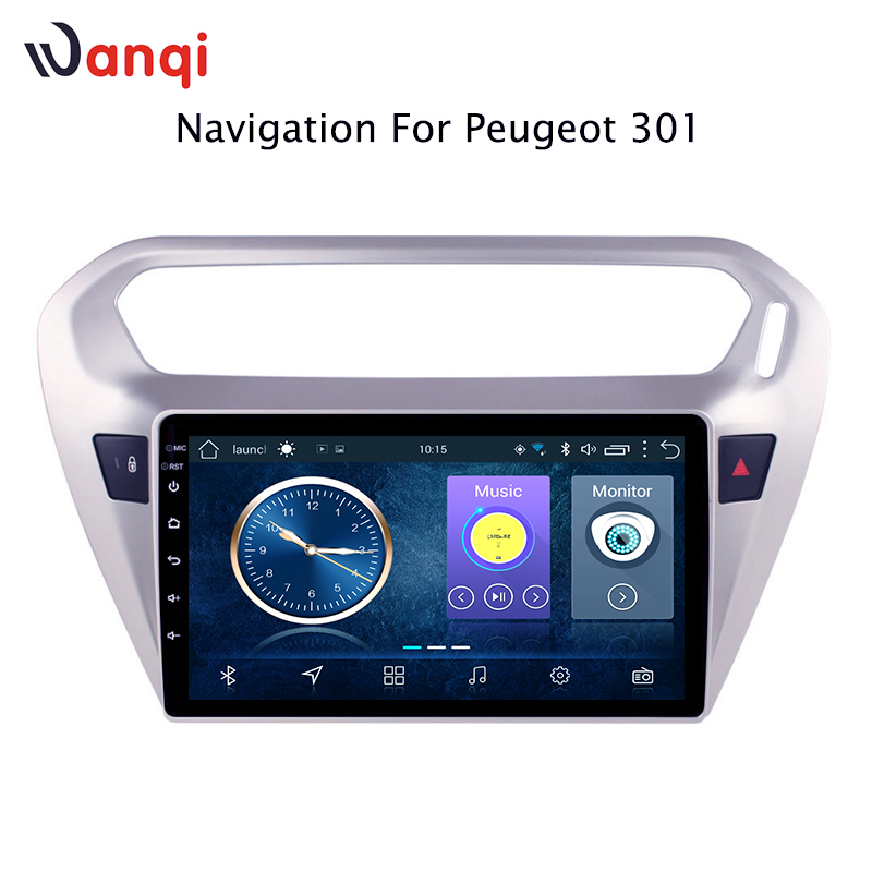 Car Radio For peugeot 301 citroen elysee 2014-2018 Android 8.1 HD 9 inch Touch screen Head Unit GPS Navigation Multimedia PlayerCar Radio For peugeot 301 citroen elysee 2014-2018 Android 8.1 HD 9 inch Touch screen Head Unit GPS Navigation Multimedia Player