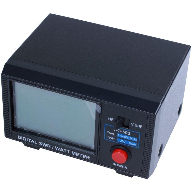 DG 503 LCD Digital SWR Power Standing Wave Ratio 1 6 60 MHz 125 525 MHz